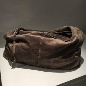 Abro Handtasche Shopper Hobo braun