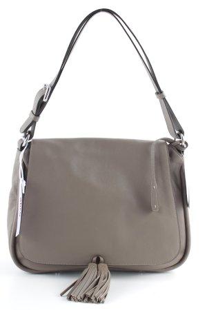 """abro Handtasche """"Velvet Medium Handbag Taupe """" beige"""