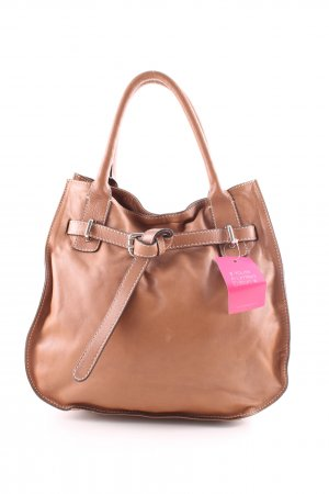 abro Henkeltasche braun Business-Look