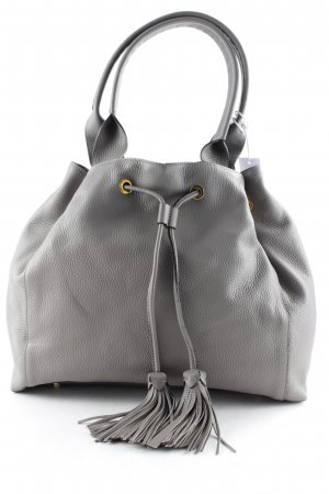 "abro Henkeltasche ""Adria Leather Hobo Bag Zinc"" taupe"