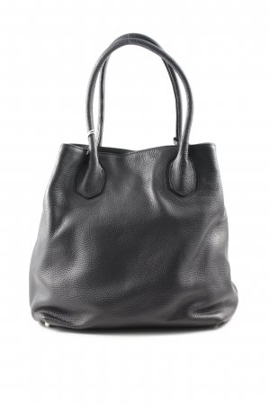 "abro Carry Bag ""Adria Leather Tote Black/Camel"" black"