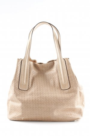 abro Bolso barrel beige look casual