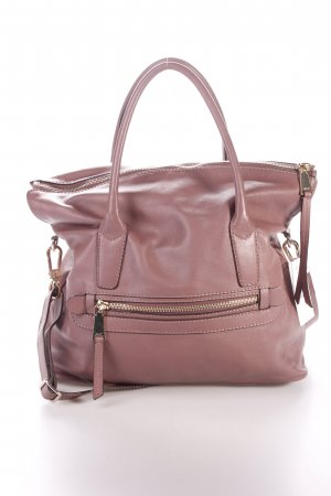 """abro Henkeltasche """"Braveheart Leather Handbag Antique Rose"""" grauviolett"""