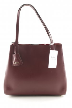 "abro Henkeltasche ""Double Tote Calf Leather """