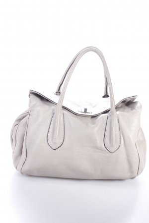 "abro Henkeltasche ""Handbag Leather Braveheart Light Grey"" grüngrau"