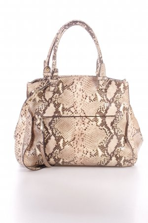 "abro Henkeltasche ""Handbag Leather Pitone Skin"""