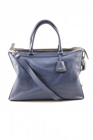 "abro Henkeltasche ""Newton Leather Tote Royal"" blau"