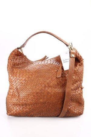 abro Hobo braun-goldfarben Street-Fashion-Look