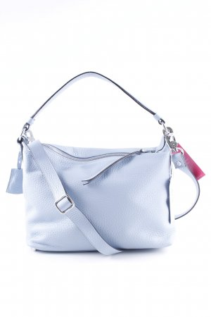 "abro Hobotas ""Cervo Leather Hobo Shoulder Bag Light Blue"""