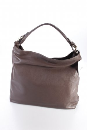 Abro Hobo-Tasche Braveheart Leather Hobo Siena braun