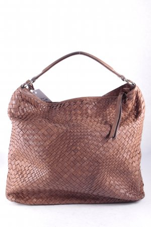 "abro Hobo ""Winter Macchiato Braided Hobo"" braun"