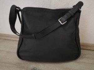 Abro hochwertige Ledertasche in dunkelgrau  - neuwertig -  edles und butterweiches Calf Leather