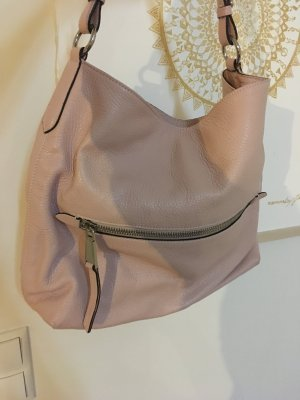abro Shoulder Bag pink-silver-colored