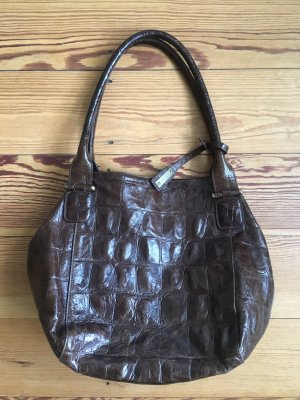 abro Shoulder Bag dark brown