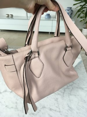abro Crossbody bag light pink leather