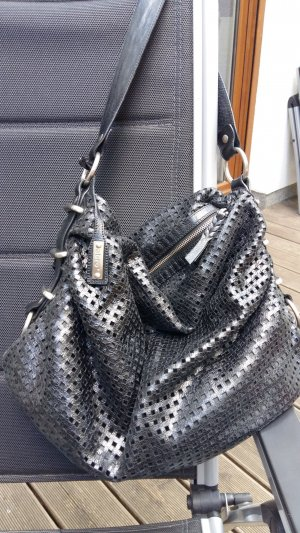 abro Handbag black leather