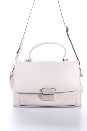 "abro Satchel ""Braveheart Leather Satchel Beige I "" beige"
