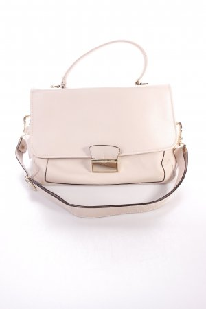 "abro Satchel ""Braveheart Leather Satchel Beige II"" beige"