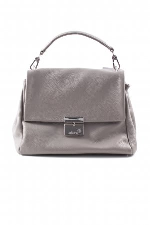 "abro Schultertasche ""Adria Leather Shoulder Bag Natural"" taupe"