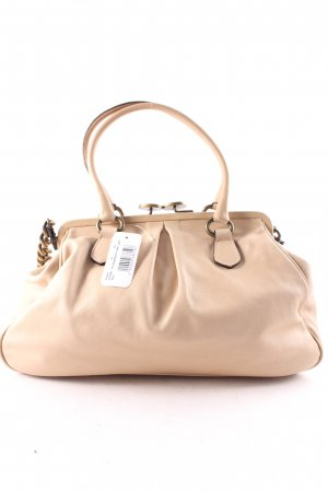 abro Bolsa de hombro beige-color oro look casual