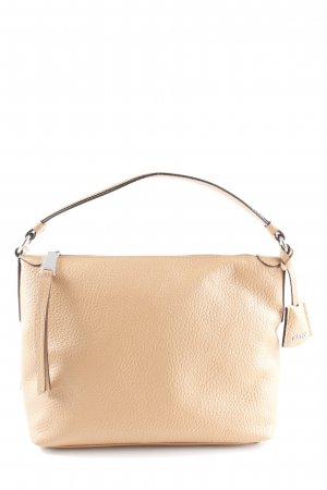 "abro Borsa a tracolla ""Cervo Leather Hobo Shoulder Bag Cuoio"" beige"