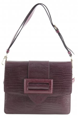 "abro Schoudertas ""Laos Shoulder Bag Burgundy"" braambesrood"