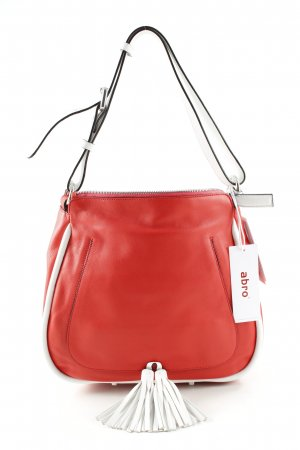abro Shoulder Bag red-white casual look