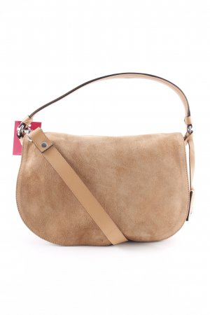"abro Schultertasche ""Underground Leather Shoulder Bag Cuoio"" camel"
