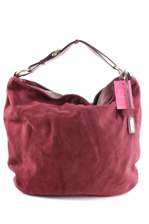 abro Shopper red casual look