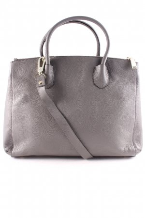 "abro Shopper ""Adria Bicolor Business Bag Grey/Gold "" gris foncé"