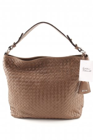 abro Shopper braun Street-Fashion-Look