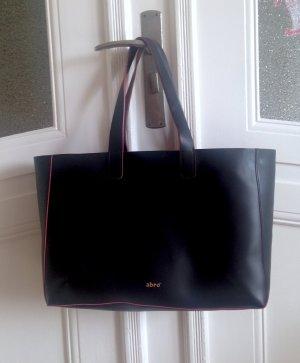 abro Shopper black-brick red leather