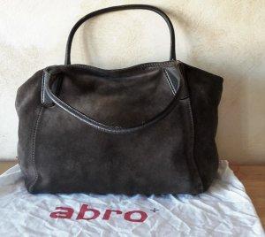 ABRO Shopper Wildleder
