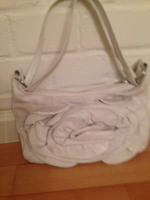 abro Carry Bag white leather