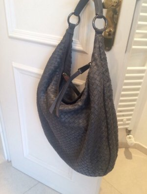 abro Bag dark grey leather