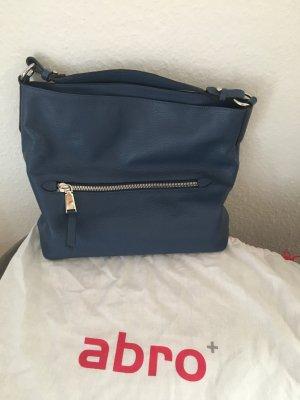 Abro Tasche blau mit Schulterriemen