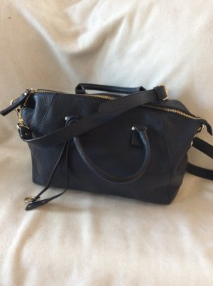 abro Carry Bag dark blue leather