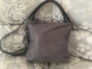 abro Tasche in Dunkelgrau / mittlere Größe als Schulter- und Handtasche