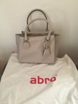 abro Carry Bag light grey leather