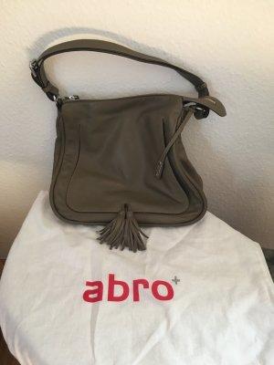Abro Tasche mit Schulterriemen und Dustbag in olivgrün