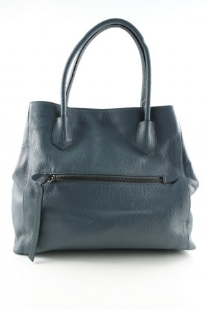 "abro Tote ""Adria Leather Tote Petrol "" dark blue"