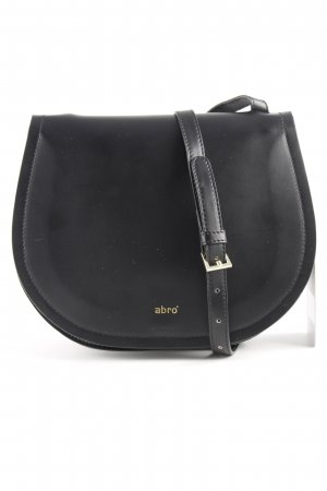 "abro Borsa a spalla ""Calf Carmen Crossbody Bag Black/Red"" nero"