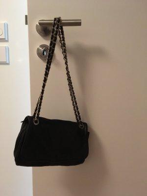 abro Crossbody bag black-silver-colored