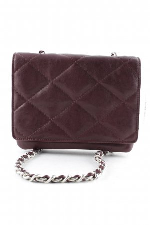 "abro Crossbody bag ""Kaleido Quilted Crossbody Burgundy"" brown"