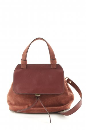 "abro Crossbody bag ""Kaleido Velvet Tophandle Oxblood"""