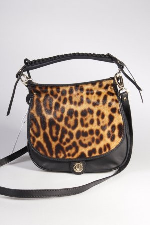 Abro Umhängetasche Leather Cavallino Leopard/Match Brown/Black