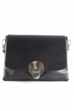 "abro Gekruiste tas ""Lotus Crossbody Bag Black/Nickel"" zwart"