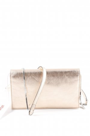 "abro Gekruiste tas ""Mimosa Leather Crossbody Bag SM Copper"" roségoud"