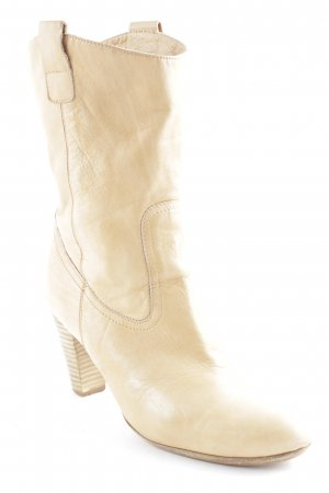 abro Western Booties beige country style