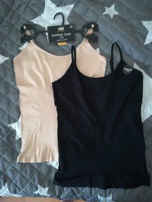 Pantalone pigiama nero-color carne